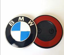 BMW 82mm Front Hood Fender Badge Emblem Sticker For 1 5 6 Series Z4 M6 2011-2015