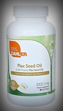 Potent Pure Organic Ultra Enriched Cold Pressed Flaxseed Oil ALA 90 Day Supply