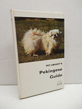 Pet Library's Pekingese Guide Book Dog Grooming Feeding Breeding Health Care