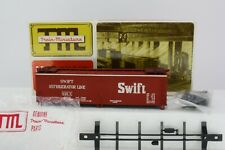 Train Miniature HO Scale Swift 40' Wood Reefer Partially Built Kit 8057