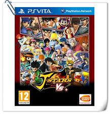 PSV J-Stars Victory Vs+ ENG 全明星大乱斗V 中文 日文 SONY VITA Action Bandai Namco Games