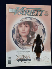XENA - VARIETY MAGAZINE NEWSPAPER - JUNE 2001 XENA COVER