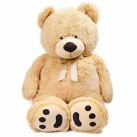 39'' Plush Teddy Bear Stuffed Animals Big Toys Valentine Kids Girl Birthday Gift