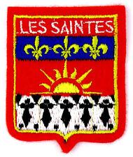 Ecusson brodé ♦ (patch/crest embroidered) ♦ Les Saintes