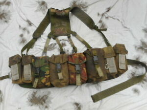 CUSTOM MADE AIRBORNE modified tailored PARA INFANTRY WEBBING SET dpm