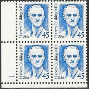 United States #2188 MNH Plate Block 1988 Dr Cushing [Large Block Tag][LL P#1]