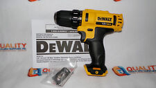 "New DeWalt DCD710 12V MAX Li-Ion 2-Speed 3/8"" Drill/Driver - Bare Tool"