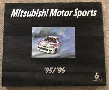 '95 '96 Mitsubishi Motorsports The Spirit of Competition Yearbook Slipcase Rally