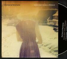 PATRICK WATSON Step Out For A While 2 TRACK PROMO CD SINGLE