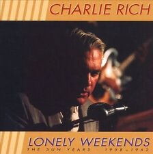 Lonely Weekends: The Best of the Sun Years, 1958-1962 [Bear Family] [Box] by Charlie Rich (CD, Mar-1998, 3 Discs, Bear Family Records (Germany))