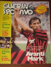 GUERIN SPORTIVO=N.40 1984 ANNO LXXII=MARK HATELEY (MILAN) COVER