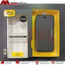 OtterBox New Version Strada Tough Leather Folio Case iPhone SE 2020 / 8 / 7 - Bl