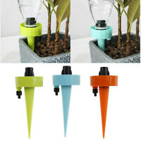 Adjustable Automatic Drip Irrigation System Plant Waterer DIY Garden Sprinkle wr