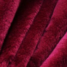 Pile Faux Fur Fabric Soft Fluffy Furry Material Plush Blanket By Meter 60'' Wide