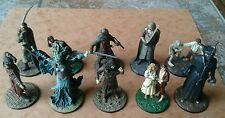 LOTR Collectors Models Issues #51-60 Eaglemoss LOT of 10