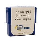 EuroTool Metal Alphabet Letter Stamping Set,  2mm VERONA LOWER CASE Font tol0349