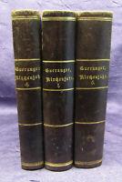 Gueranger Das Kirchenjahr 3 Bde (1,4,5) 1874, 1876, 1877 Religion Theologie sf