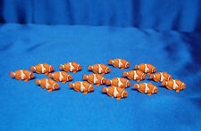 8 Mini Clown Fish Favors Mini Good Luck Clownfish Favors Safari Ltd