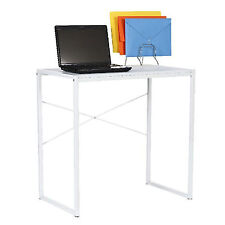 White Office Computer Desk Table Home Metal Student Study 780 W x 460 D x 760 H