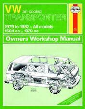 VW T25 Haynes Workshop Manual Transporter Camper Wedge 1979-1982 1584cc 1970cc