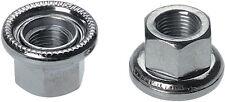 FIXED GEAR TRACK  REAR WHEEL 10 x 1 AXLE NUTS PAIR Swivel Washer 10mm  x 1mm