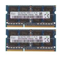 16GB 2X SK Hynix 8GB DDR3L-1600 MHz PC3L-12800S CL11 SODIMM Laptop Memory RAM