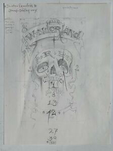 Michael Hussar Two Sided Drawing. Wunderland