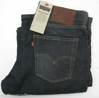 Levi's 514 Slim Straight #0265 Etched Indigo Made in USA 100% Cotton Levis Denim