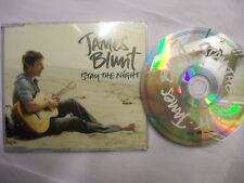 JAMES BLUNT Stay The Night – 2010 UK/EU CD – Pop Rock – RARE!