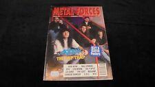 METAL FORCES magazine rivista n.68/1992 anthrax skid row la guns kiss coc poster