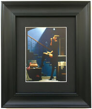 Dancer for Money by Jack Vettriano - Erotic - BLACK EDITION Framed Art Print