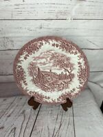 Churchill Made In Staffordshire England Red Willow Fine English Tableware