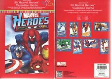 32 Marvel Heroes Valentine Cards - New in Box