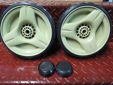 "Honda 21"" Lawnmower 2 X 8"" Drive Wheel Set Suit Hru216k2 Hru216m2"