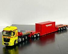 "Mercedes Arocs MP4 stream space 6x4 lowloader trailer+20ft cont. ""Mammoet"""