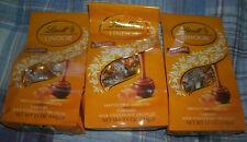 3 BAGS LINDT LINDOR CARAMEL MILK CHOCOLATE TRUFFLES 5.1 oz each  exp 12/2020