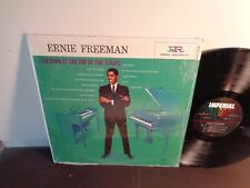 ERNIE FREEMAN 1960 IMPERIAL MONO R&B JAZZ VG++ / Dark At The Top Of The Stairs