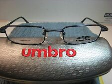 UMBRO  EYEGLASSES FRAME U122  BLUE  48-19-125  DEMO   WITH CASE AUTHENTIC