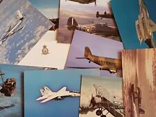 NEW Pack of 10 Aircraft Postcards Ideal for Postcrossing, all different