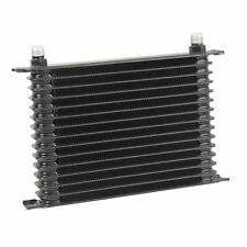 15 Row 10AN Powder Coated Engine Transmission Oil Cooler Aluminum