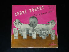 45 tours EP - ANDRE ROBERT - FOOTBALL - ANNEES 1960