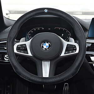 para Renault Koleos 2009-2014 Samsung QM5 Cuero Suave Negro Transpirable Antideslizante UIHhdas Cubierta del Volante del Coche Cosida a Mano DIY Hilo de Color