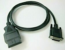 5FT OBD2 OBDII Cable for NEXAS NexBat NB380 Battery and Code Reader Scan Tool