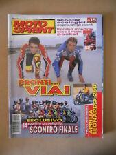 MOTOSPRINT n°15 1999 VALENTINO ROSSI LORIS CAPIROSSI  [MS9]