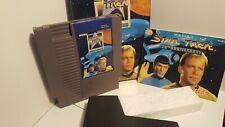 Nintendo NES - Star Trek 25th Anniversary - CIB (box, manual, dust cover)