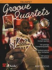 Groove Quartets for Trumpet Sheet Music Book with CD Score & Parts