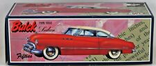 FIFTIES 1950 BUICK SEDAN WHITE/PINK LEADWORKS 50'S TIN FRICTION CAR JAPAN