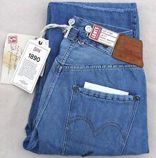 LEVIS Vintage Clothing 1890 501 Bandit Selvedge Jean Cotton Blue Mens 27 $395