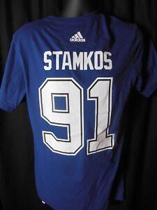 Tampa Bay Lightning Stamkos #91 Mens Adidas Tee Shirt Small