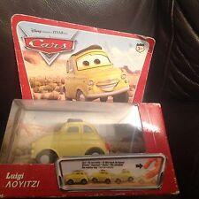 Luigi Cars Disney Pixar Mattel H6437-0718G1 MOLTO RARO 2005 NUOVO SIGILLATO